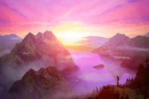 Sunrise Brings New Hope 5k Wallpaper