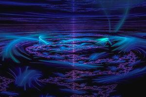 Sunrise Fractal Digital Art