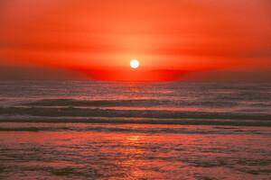 Sunrise In Australia Ocean 5k Wallpaper