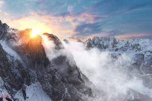 Sunrise In The Dolomites 5k