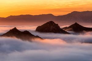 Sunrise In The Santa Monica Mountains 4k
