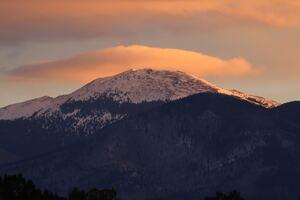 Sunrise Over Santa Fe Baldy 5k
