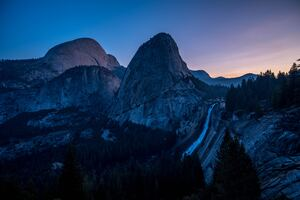 Sunrise Yosemite Valley 5k Wallpaper