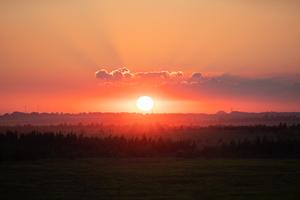 Sunset 8k Wallpaper