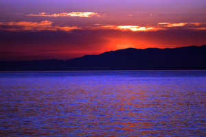 Sunset Burning Time 4k Wallpaper