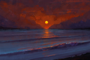 Sunset Digital Art