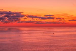 Sunset Evening Lake 5k