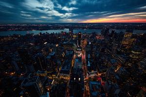 Sunset New York City