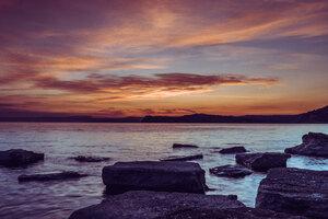 Sunset Rocks Wallpaper