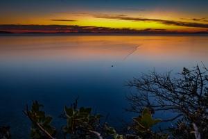 Sunset Sea Sky Landscape Sun