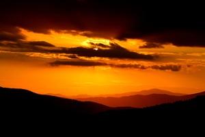 Sunset Sky Landscape Outdoor 4k Wallpaper