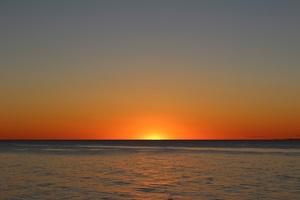 Sunset Water Dusk Dawn Wallpaper