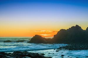 Sunsets At Cape Arago 4k