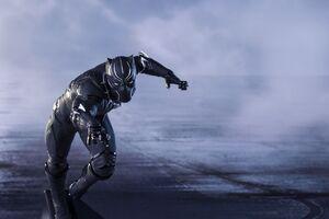 Super Hero Black Panther Wallpaper