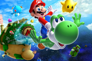 Super Mario Galaxy 2 Wallpaper