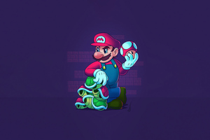 Super Mario Nintendo 4k Wallpaper