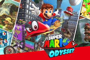 Super Mario Odyssey 4k