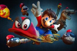 Super Mario Odyssey 8k Wallpaper