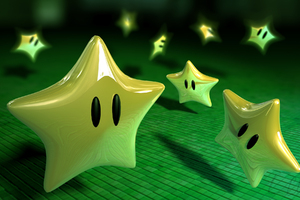 Super Mario Stars Wallpaper