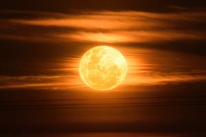 Super Moon 4k