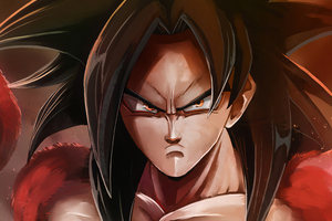 Super Saiyan 4 Goku 4k