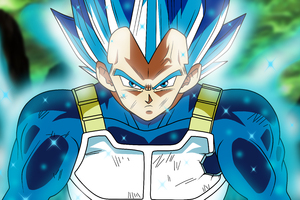 Super Saiyan Blue Dragon Ball Super 5k