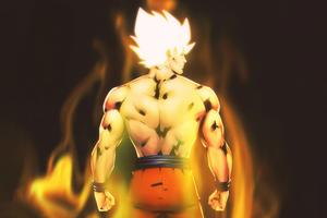 Super Saiyan Dragon Ball 8k Wallpaper