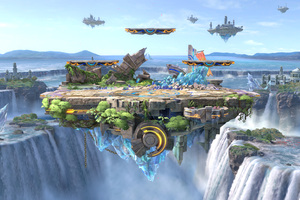 Super Smash Bros Ultimate Artwork 5k