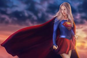 Supergirl 2020 Art 4k Wallpaper