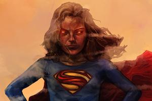 Supergirl 4k 2018