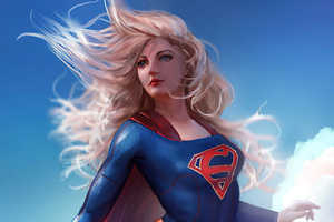 Supergirl 4k 2020 Art