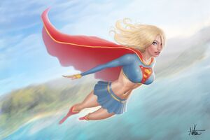 Supergirl 5k Artwork Wallpaper