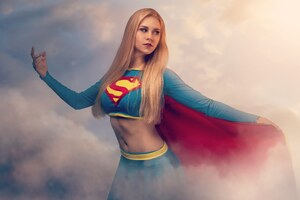 Supergirl 5k Cosplay Wallpaper