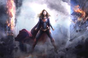Supergirl Arts 2018