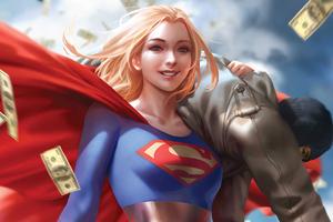 Supergirl Artwork 2020 Wallpaper