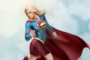 Supergirl Artwork 4k