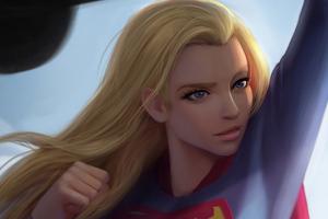 Supergirl Bettle 4k Wallpaper