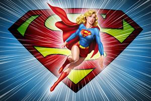 Supergirl Dc Comic Minimal 5k Wallpaper