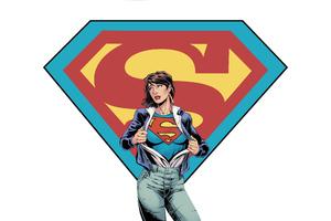 Supergirl Digital Art 5k