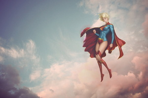 Supergirl Fantasy Art