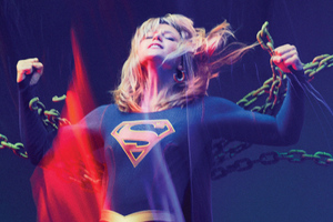 Supergirl Freedom 4k Wallpaper