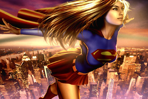 Supergirl HD Art