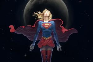 Supergirl HD Artwork