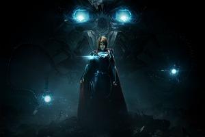 Supergirl Injustice 2 Wallpaper