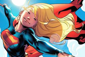 Supergirl Joy Of Flying 5k Wallpaper