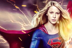 Supergirl Lightning 4k