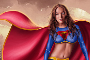 Supergirl Megan Fox
