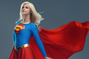 Supergirl Pride Cosplay 4k Wallpaper