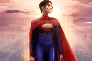 Supergirl Sasha Calle 4k Wallpaper
