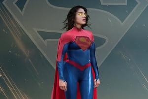 Supergirl Sashacalle 4k